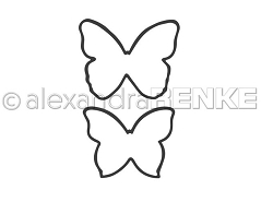 Alexandra Renke - Cutting Die - Medium butterflies