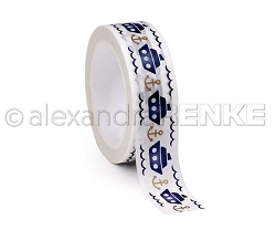 Alexandra Renke - Washi Tape - Boats & Anchors (0.6