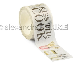 Alexandra Renke - Washi Tape - Kiss the Cook (1.2