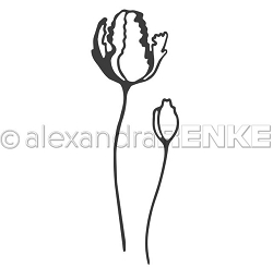 Alexandra Renke - Cutting Die - Tulip with Bud