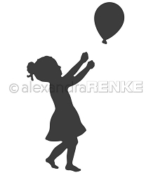Alexandra Renke - Cutting Die - Balloon Girl