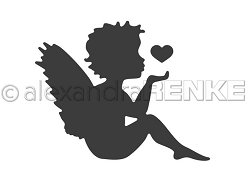 Alexandra Renke - Cutting Die - Angel with Heart