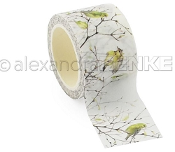 Alexandra Renke - Washi Tape - Green Birds (1.2