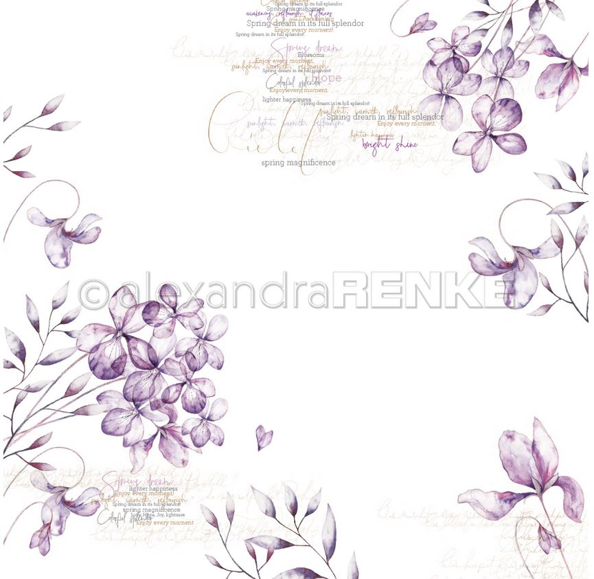 Alexandra Renke - gorgeous new Spring papers!