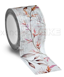 Alexandra Renke - Washi Tape - Floral Red (1.2