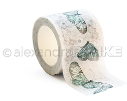Alexandra Renke - Washi Tape - Blue Butterflies (1.5
