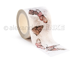 Alexandra Renke - Washi Tape - Rose Butterflies (1.5