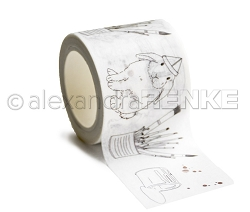 Alexandra Renke - Washi Tape - Bunny Painter (1.5