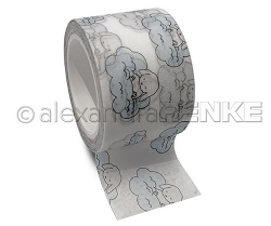 Alexandra Renke - Washi Tape - Baby Blue Clouds (1.25