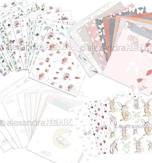 Alexandra Renke - Spring paper collections