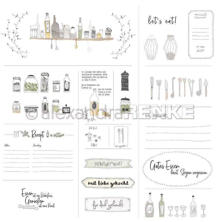 Alexandra Renke 12 X12 Cardstock Lena S Kitchen