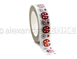 Alexandra Renke - Washi Tape - Lady Bug Border (0.6