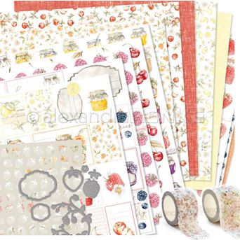 Alexandra Renke - Summer washi tapes & papers