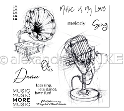 Alexandra Renke - Clear Stamp - More Music