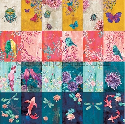 Alexandra Renke - Card Sheet Autumn Insect Dance - 12