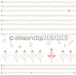 Alexandra Renke - Ballerina with Music Notes - 12