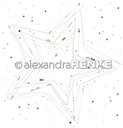 Alexandra Renke - Geometric Christmas Big Star - 12