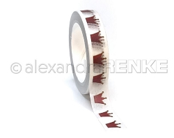 Alexandra Renke - Red Crowns Washi Tape (0.375