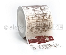 Alexandra Renke - Nutcracker Outline Washi Tape (1.5