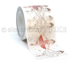 Alexandra Renke - Ballerina Outline Washi Tape (1.5