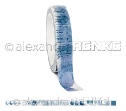 Alexandra Renke - Washi Tape - Dark Blue Color Proof (0.375