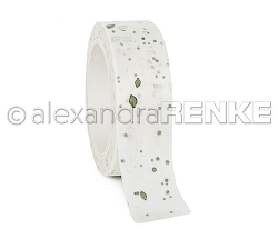 Alexandra Renke - Washi Tape - Color Blotches Green (0.6
