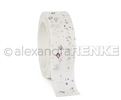 Alexandra Renke - Washi Tape - Color Blotches Purple (0.6
