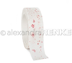 Alexandra Renke - Washi Tape - Color Blotches Red (0.6