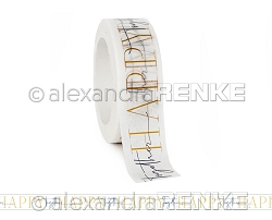 Alexandra Renke - Washi Tape - Happy Togheter (0.6