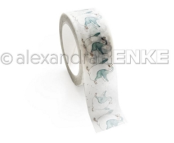Alexandra Renke - Dancing Penguins Washi Tape (0.75