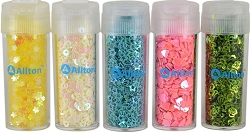 Allton - Shaped Sequins - Spring Collection