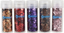 Allton - Shaped Sequins - Twilight Collection