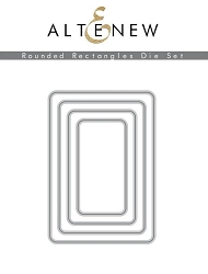 Altenew - Cutting Dies -  Rounded Rectangles