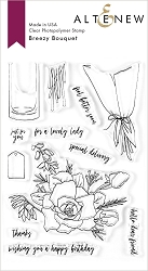 Altenew - Clear Stamps - Breezy Bouquet