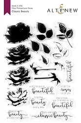 Altenew - Clear Stamps - Classic Beauty