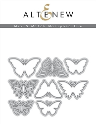 Altenew - Cutting Dies - Mix & Match Mariposa