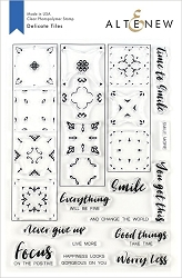 Altenew - Clear Stamps - Delicate Tiles