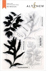 Altenew - Clear Stamps - Dot Botanicals