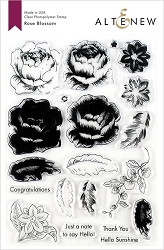 Altenew - Clear Stamps - Rose Blossom