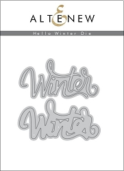 Altenew - Cutting Dies - Hello Winter