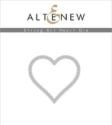 Altenew - Cutting Dies - String Art Heart
