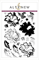 Altenew - Clear Stamps - Ornamental Flower