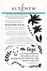 Altenew - Clear Stamps - Wings of Hope