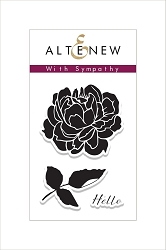 Altenew - Clear Stamps - With Sympathy