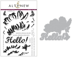 Altenew - Clear Stamps & Die bundle - Cross Stitch Flower