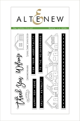 Altenew - Clear Stamps - Neighborhood