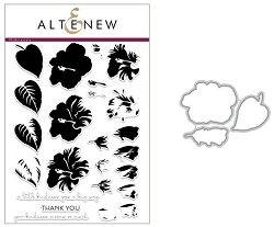 Altenew - Clear Stamps & Die Set - Build-A-Flower: Hibiscus