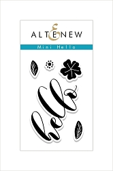 Altenew - Clear Stamps - Mini Hello