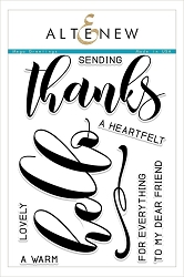 Altenew - Clear Stamps - Mega Greetings