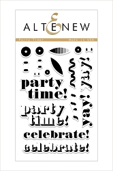 Altenew - Clear Stamps - Party Time!